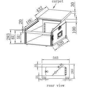 קייס 6U + מיקסר + מחשב
