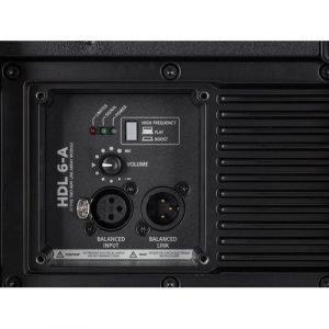 רמקול Line Array אקטיבי מסדרת HDL של RCF