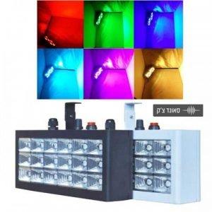 APEXTONE אפקט פלאש 18 LED