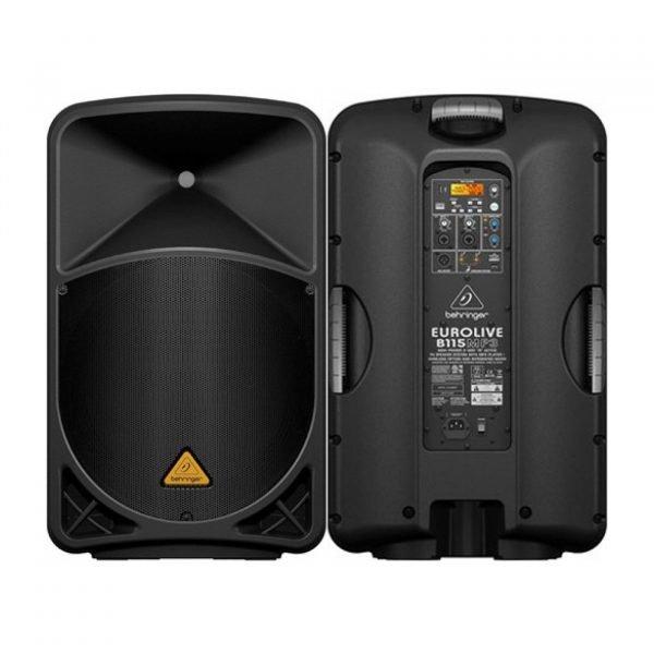 behringer eurolive b115mp3 pa speaker 5161