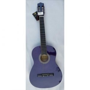 גיטרה קלאסית 3/4 אלברטו מנצ'יני TRNS. PURPLE Alberto Manchini