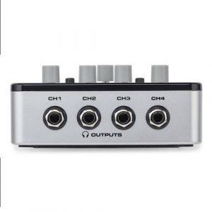 מגבר אוזניות 4 ערוצים SAMSON QH4 4-Channel Mini Headphone Amp