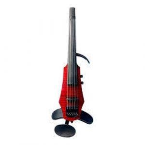 כינור חשמלי 5 מיתרים NS Design WAV5-VN-TR Transparent Red