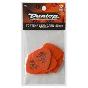 מארז 12 מפרטים DUNLOP TORTEX STD 0.60