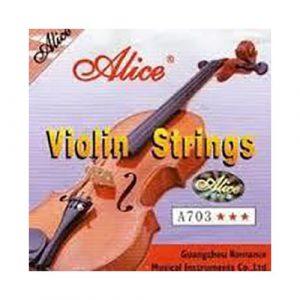 סט מיתרים לכינור ALICE A703A 1/4