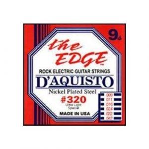סט מיתרים לגיטרה חשמלית דקיסטו 320 0.09 D'AQUISTO