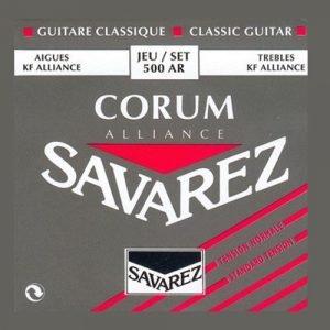 סט מיתרים לקלאסית SAVAREZ ALLIANCE CORUM 500AR