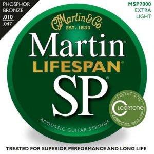 סט מיתרים 010 לאקוסטית MARTIN SP LIFESPAN MSP7000