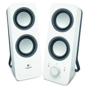 רמקולים למחשב Logitech Z200 2.0 Multimedia Retail בצבע לבן
