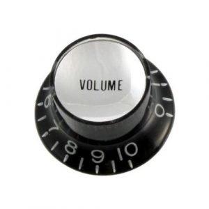 2 כפתורי לווילים Black Volume Reflector Knobs PK-0184-023 All parts